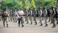 Kapolda Jambi lepas 150 Brimob tugas Operasi Madago Raya di Poso